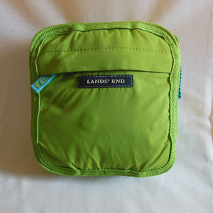 Land's End Nylon Travel Tote
